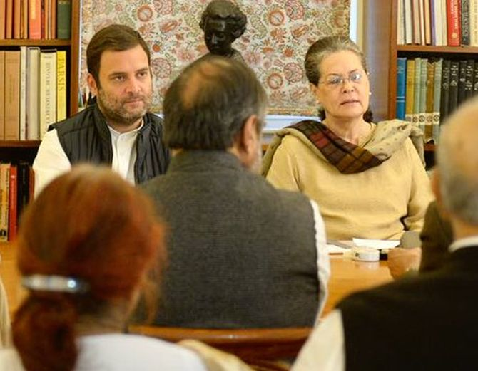 Modi Government 'Sabotaging' Parliament's Winter Session: Sonia, Jaitley Rejects Charge""