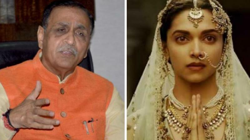 Rupani no to 'Padmavati' in poll bound Gujarat