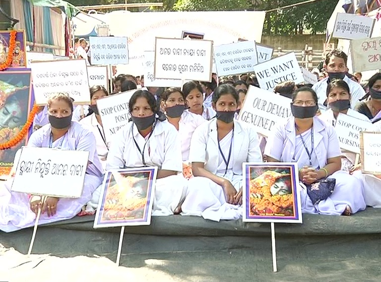 NHM nurses strike enters 5th day, healthcare services affected