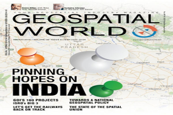 Image result for Odisha wins Geospatial  Award 2018