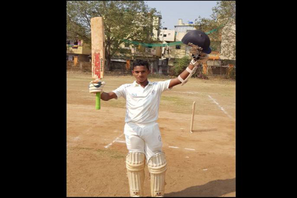 Mumbai(PTI): A 14-year-old student smashed an unbeaten 1,045 not out in a  local cricket tournament in neighbouring Navi Mumbai, his coach claimed  today.