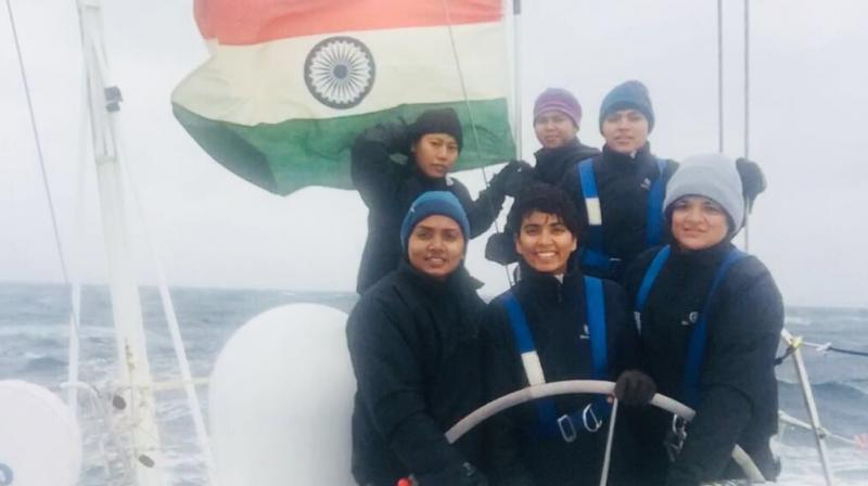 Indian Navy's first all-women crew crosses Cape Horn, hoists tricolour