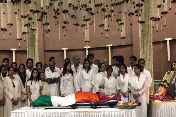 Fans bid tearful farewell to legendary Bollywood actress Sridevi