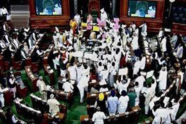 Speaker threatens to adjourn Lok Sabha sine die