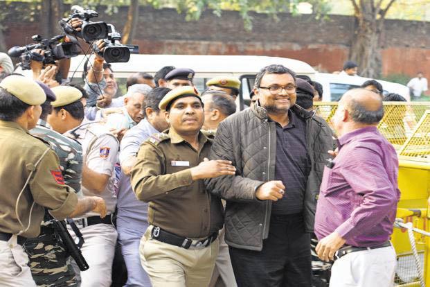 Supreme Court transfers Karti Chidambaram's challenge to ED summons to HC