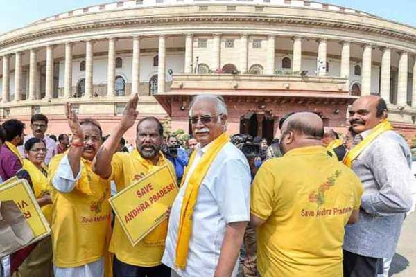 TDP, YSR Congress pitch no-confidence motion against BJP govt in Parliament