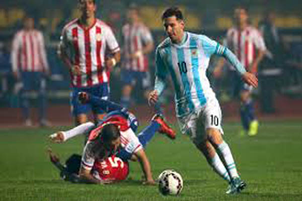 fad3a0e86 Manchester(AFP)  Lionel Messi begins his road to World Cup redemption on  Friday as Argentina take on Italy in a glamour friendly