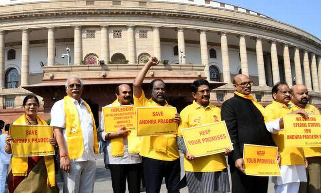 Rajya Sabha adjourned due to unabated opposition protest