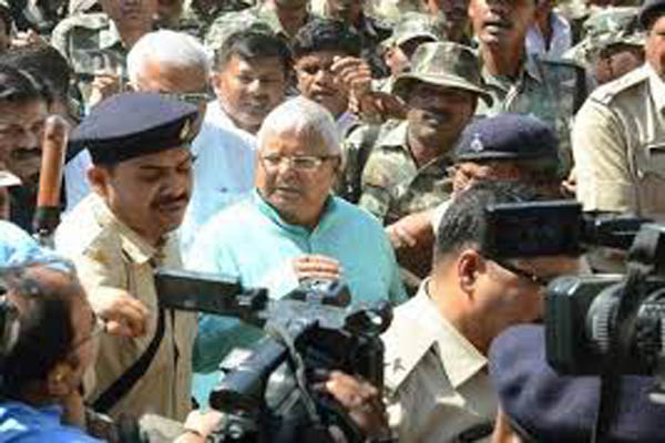 Lalu jailed for seven years in Dumka treasury case