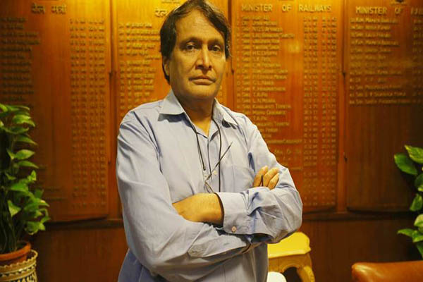 Suresh Prabhu gets additional charge of Aviation