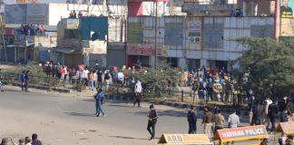 It's tense: Police use tear gas, water cannons & farmers pelt stones at Singhu