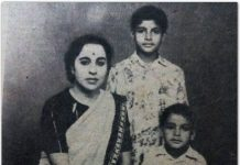 Big B posts throwback picture with mother, brother