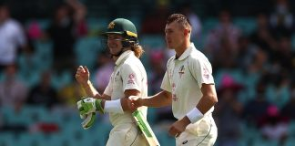 Labuschagne, Pucovski put Aus ahead on rain-hit Day 1 of SCG Test