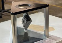 Moon rock now on display in Oval Office of White House