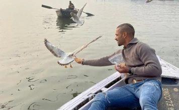 Shikhar Dhawan's boat ride spells trouble for boatman
