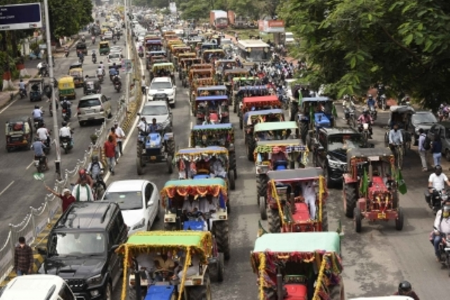 Farmers leaders prepare for 'Tractor March' on January 7