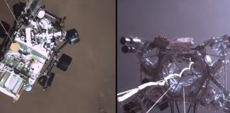NASA releases audio from Mars, video of Perseverance landing.