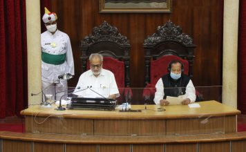 Opposition stages walkout during Governor's address in Odisha Assembly