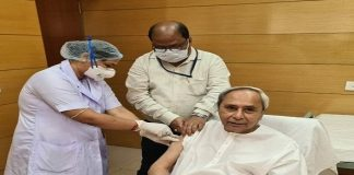 Odisha CM receives first dose of COVID Vaccine today