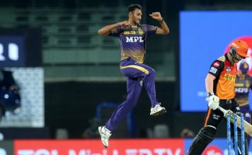 Rana, Tripathi, Krishna lead KKR to 10-run win over SRH