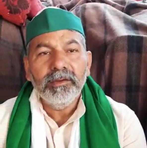 Rahul slams BJP over attack on Rakesh Tikait