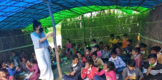 Students turn teachers for underprivileged kids in Covid times