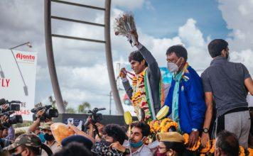 Shuttler Pramod Bhagat gets hero's welcome in home state Odisha