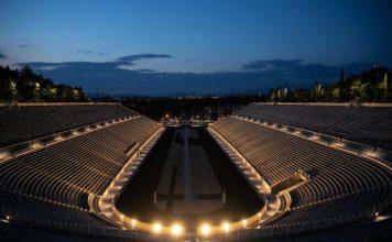 New lighting system of historic Panathenaic stadium unveiled