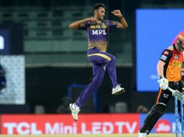 Rana, Tripathi, Krishna lead KKR to 10-run win over SRH