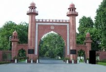 Amid Covid surge, old graves at AMU being dug up for new burials