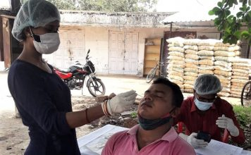 Odisha Covid-19: Active cases reduce further to 43,338; Positivity Rate stands at 5.86