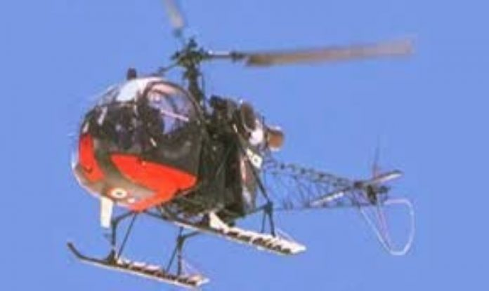 Army helicopter crashes in J&K's Udhampur